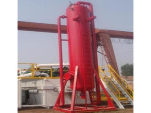 油田钻井液气分离器